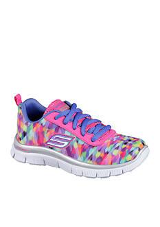 Skechers Rainbow Runner Sneaker - Girls Toddler/Youth Sizes