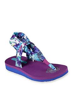 Skechers Meditation Summer Sling Sandal - Girls Toddler/Youth Sizes