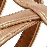 Youth Girls Shoes: Rose Gold Nina Pandora Sandals - Youth Sizes