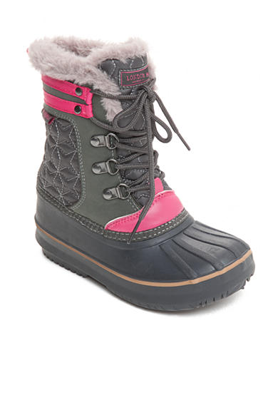 London Fog® Chiswick Cold Weather Boot - Girl Toddler/Youth Sizes