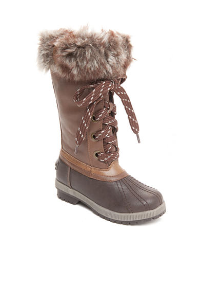 London Fog® Melton Cold Weather Boot - Girl Toddler/Youth Sizes
