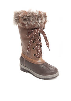 London Fog Melton Cold Weather Boot - Girl Toddler/Youth Sizes
