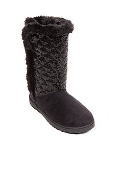 Rampage Tillie Sequin Fleece Boots