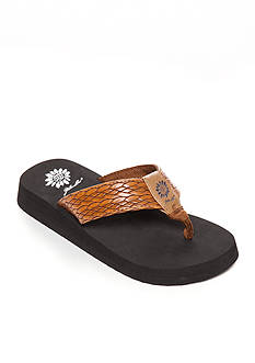 Yellow Box Flax 2 Flip Flop Sandal - Girl Toddler/Youth Sizes