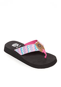 Yellow Box Paige 2 Flip Flop Sandal - Girl Toddler/Youth Sizes