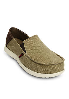 Crocs Santa Cruz Canvas Loafers GS - Boy Youth Sizes