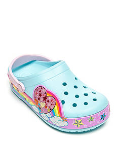 CrocsLights Rainbow Heart Clog - Toddler/Youth Sizes