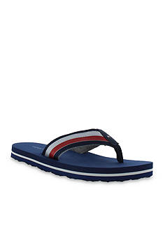 Tommy Hilfiger Solid Signature Flip Flop Sandals - Boy Toddler/Youth Sizes