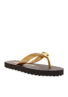 MICHAEL Michael Kors Jet Set Flip-Flop - Girl Youth Sizes