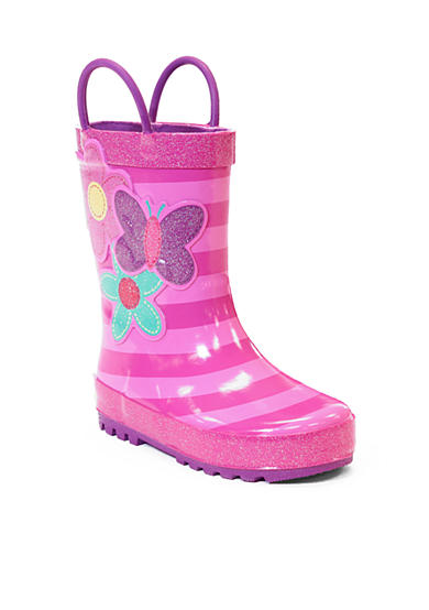 Western Chief Blossom Cutie Rain Boot - Girl Infant/Toddler/Youth Sizes 5 - 4