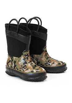 Western Chief Wilderness Camo Neoprene Boot- Toddler/Youth Sizes