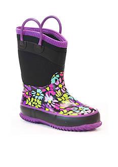 Western Chief Daisy Shower Neoprene Rain Boot - Youth/Toddler Sizes