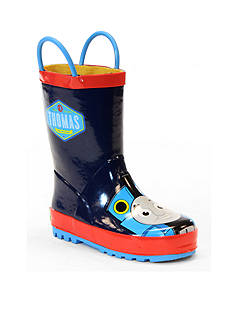 Western Chief Thomas Blue Engine Rain Boot - Boy Infant/Toddler Sizes 6 - 12