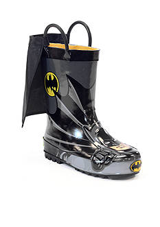 Western Chief Batman™ Rain Boots - Toddler/Youth Boy Sizes 7-6