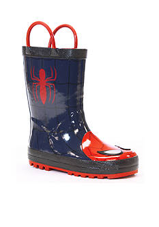 Western Chief The Ultimate Spider-Man Rain Boot - Boy Infant/Toddler Sizes 6 - 13