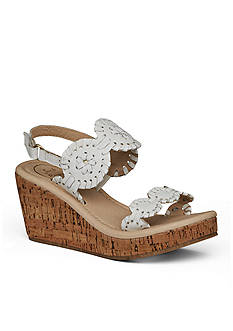 Jack Rogers Miss Luccia Wedge Sandal Girls Toddler/ Youth