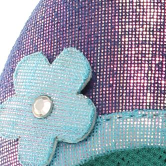 Girls Casual Shoes: Shimmer Chooze Daydream Flat - Girl Youth Sizes 1 - 6 - Online Only