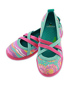 Chooze Twist Flat- Girl Toddler/Youth Sizes