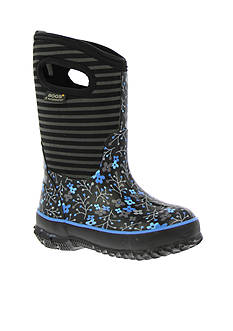 Bogs Classic Flower Stripe Boot - Girl Infant/Toddler/Youth Sizes 7 - 6 - Online Only
