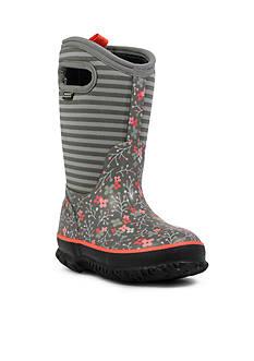 Bogs Classic Flower Stripe Boot
