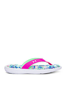 Under Armour® Marabella Marble V Flip Flops - Girls Youth Sizes