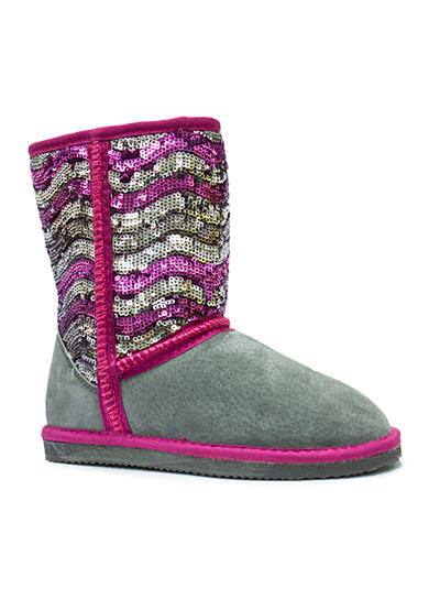 LAMO Footwear Sequin Girl Pattern Boot
