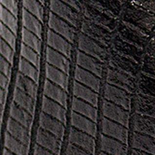 Red Toddler Girl Shoes: Black Josmo Lizard Print Walking Shoe - Infant/Toddler