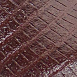 Red Toddler Girl Shoes: Brown Josmo Lizard Print Walking Shoe - Infant/Toddler