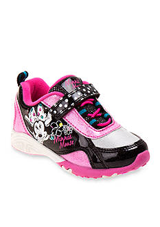 Disney® Minnie Mouse® Velcro® Sneaker - Toddler/Youth