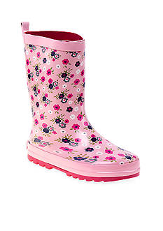 Laura Ashley Floral Rain Boot-Youth Sizes