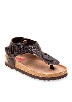 Rugged Bear Footbed Thong Sandal - Toddler
