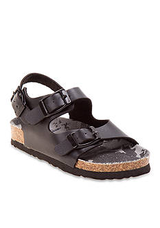 Rugged Bear Double Strap Footbed Sandal - Toddler