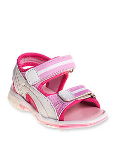 Rugged Bear Girls Velcro® Sport Sandal - Toddler/Youth