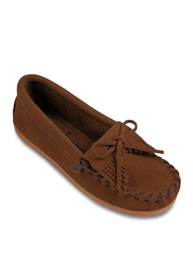 Minnetonka Kilty Moccasin Shoe