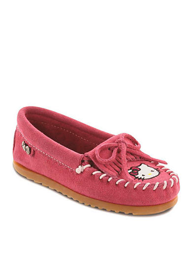 Minnetonka Hello Kitty Kilty Moccasin Shoe