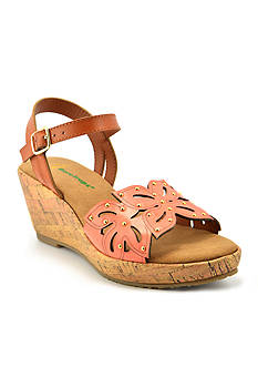 BareTraps Bloom Flower Wedge Sandal-Youth