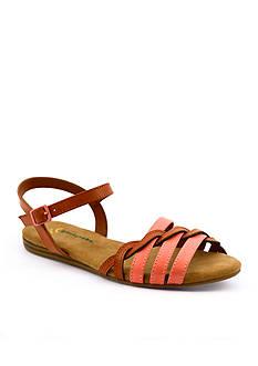BareTraps Saddle Sandal