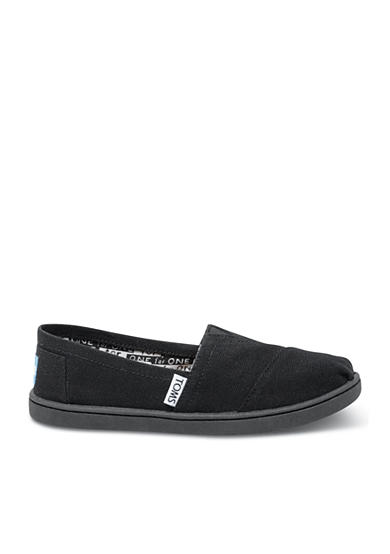 TOMS® Classics Black Slip On - Toddler/Youth Sizes