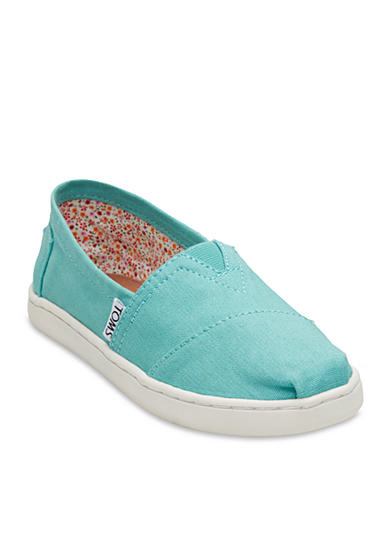 TOMS® Classics Turquoise Slip On - Toddler/Youth Sizes