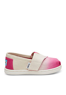 TOMS® Seasonal Classic Dip Dye Shoe - Girls Infant/Toddler Sizes