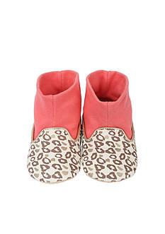 Robeez Girls Playful Leopard Slipper - Infant Sizes