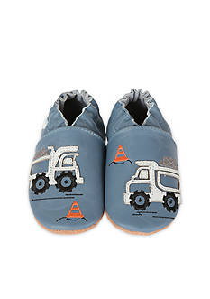 Robeez Little Dump Truck Crib Shoe - Infant/Toddler Sizes
