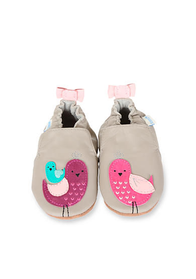 Robeez® Peaceful Partridge Crib Shoe - Infant Sizes