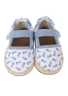 Robeez Poppies Espadrille Soft Sole