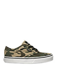 Vans Atwood Camo Sneaker - Boy Toddler/Youth Sizes