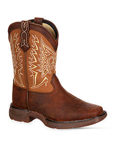 DURANGO Lil Rebel Big Kid Let Love Fly Western Boot-Youth Sizes