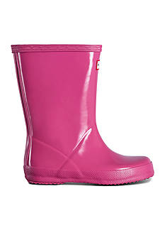 Hunter Classic Gloss Rainboot - Girl Toddler/Youth Sizes