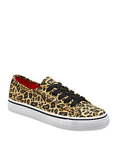 Keds Double Up Leopard Sneaker - Toddler/Youth Sizes