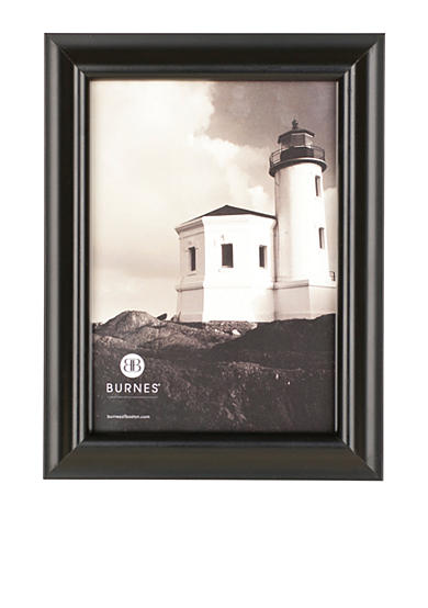 Burnes of Boston Domed Wood Black 8x10 Frame