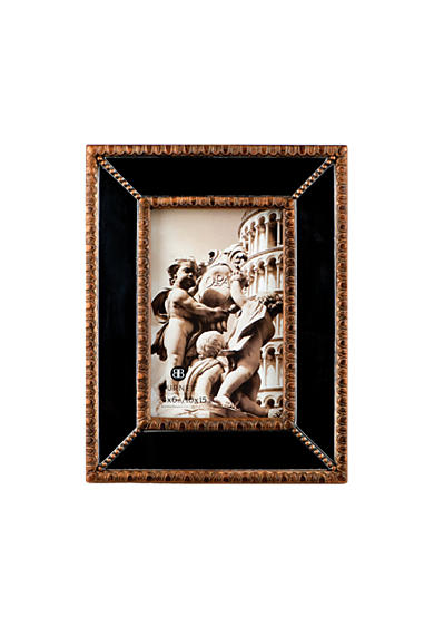 Burnes of Boston Beaded Mirror 4X6 Frame